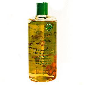 СЛ Шампунь освежающий для нормальных и жирных волос Барбарис и Зеленый чай, 260мл.