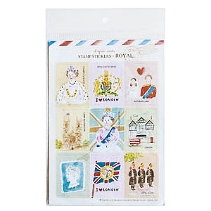 Набор наклеек STAMP STICKERS-ROYAL