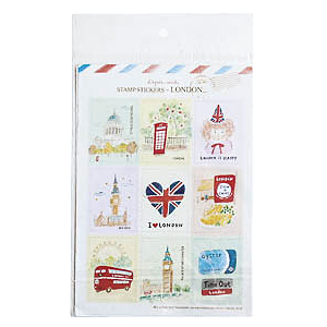 Набор наклеек STAMP STICKERS-LONDON