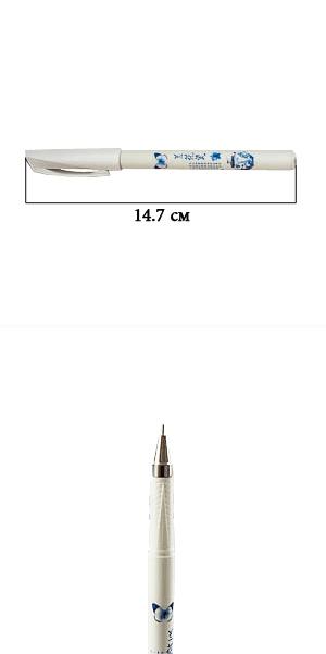Ручка Гжель с гелевым стержнем