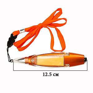 Ручка - фонарик Оранж с шариковым стержнем